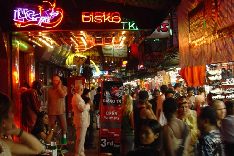 From The Archives A Night In Thailand S Red Light District